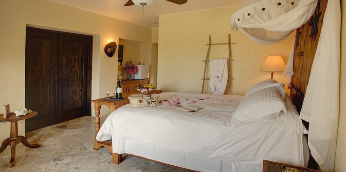 guest room, baja rental, baja beach rental
